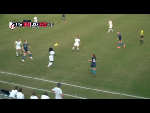 Nike International Friendlies U20 WNT vs. France