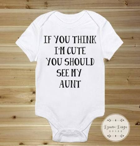 Cute Baby Onesies Custom Baby Onesies Cute Baby Clothes If You