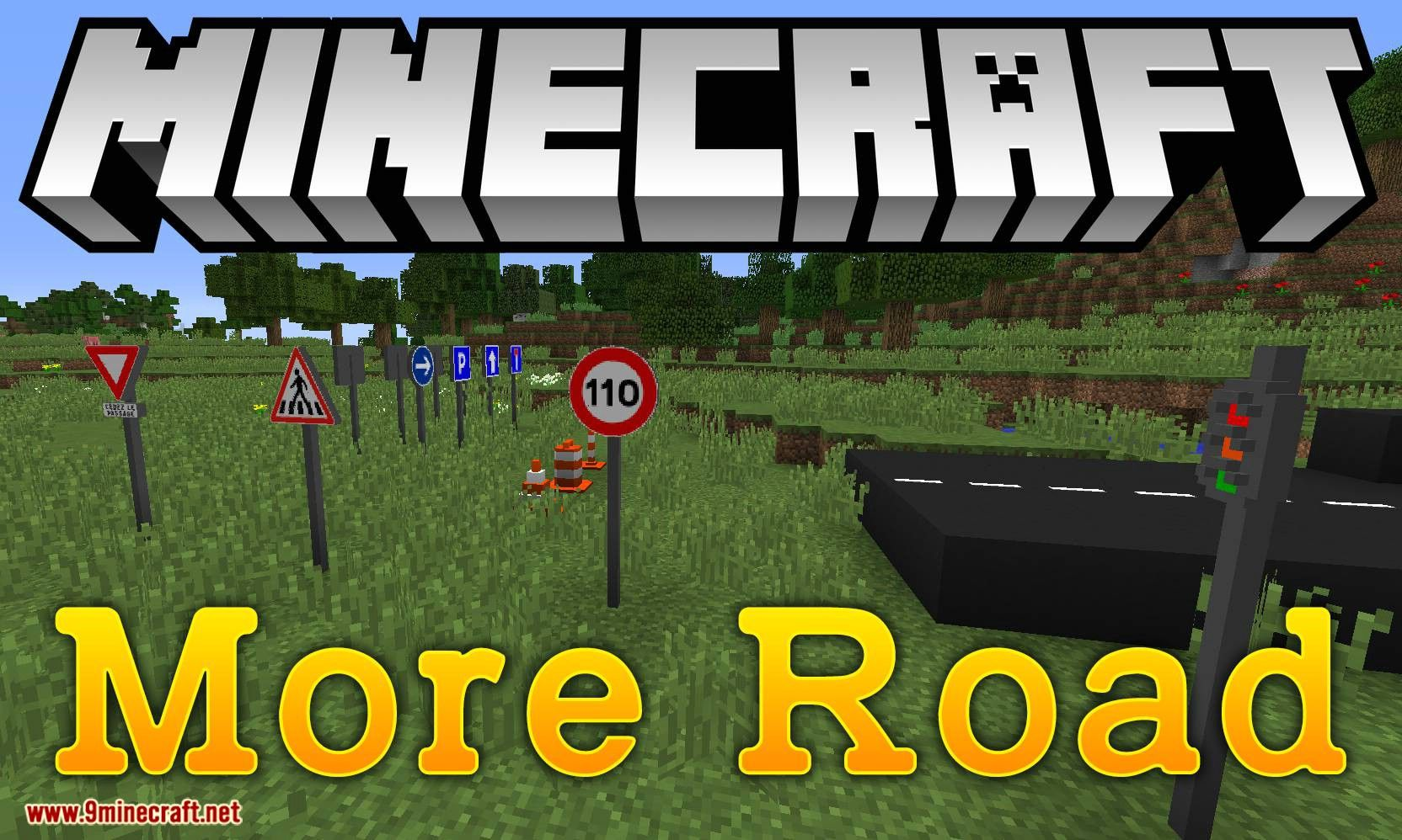 More Road Mod 1 12 2 Adds Decoration For The Roads
