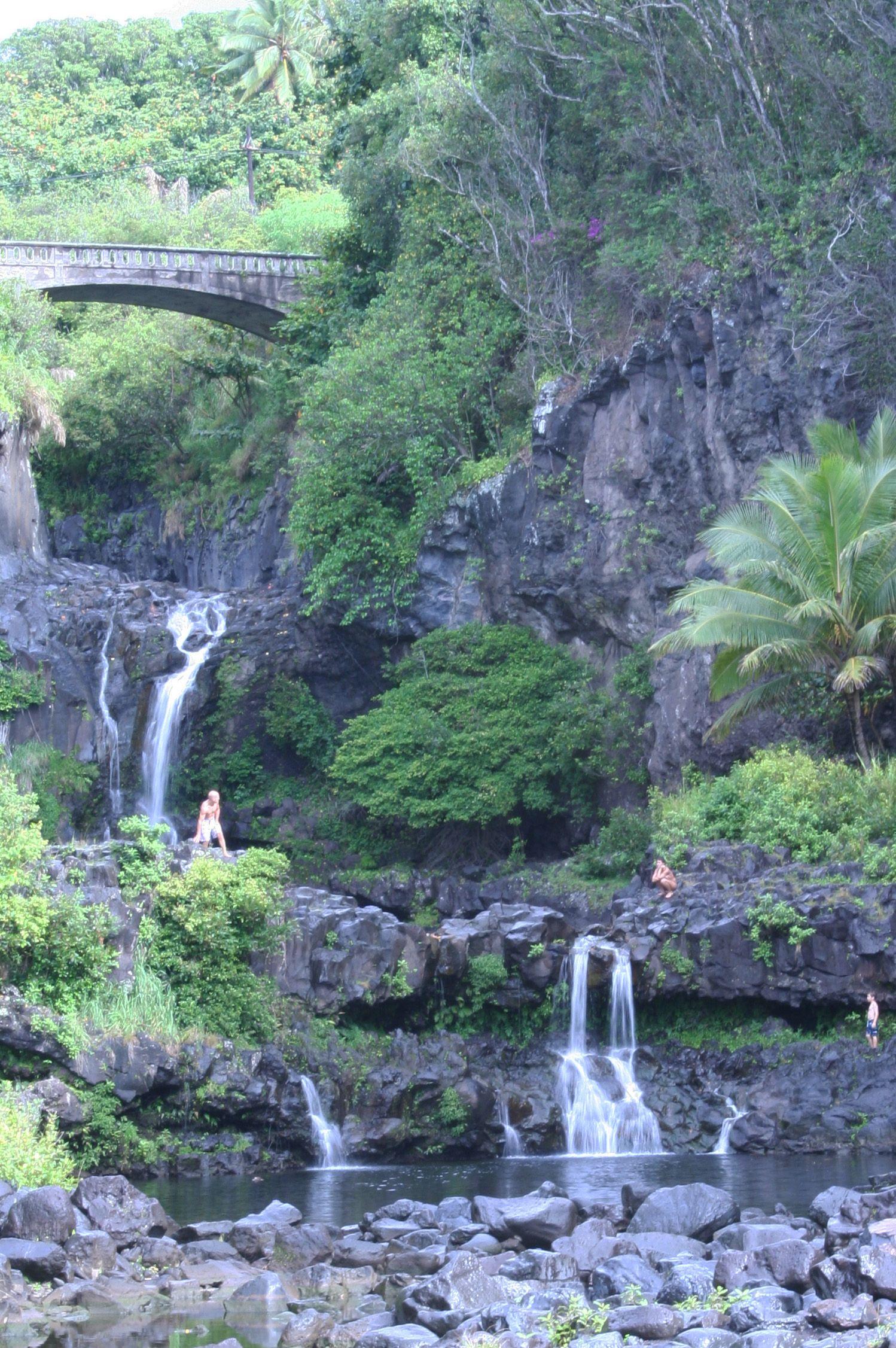 7 Pools In Maui Seven Sacred Pools Maui Trip To Maui Maui Vacation