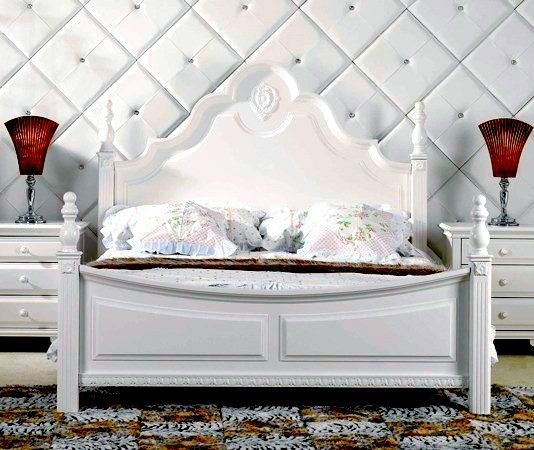 Buy furniture online  mattresses   bedding  bunk beds  at fantastic cheap  prices Delivery. La Lune Bed  Ivory White   Buy furniture online  Ivory white and