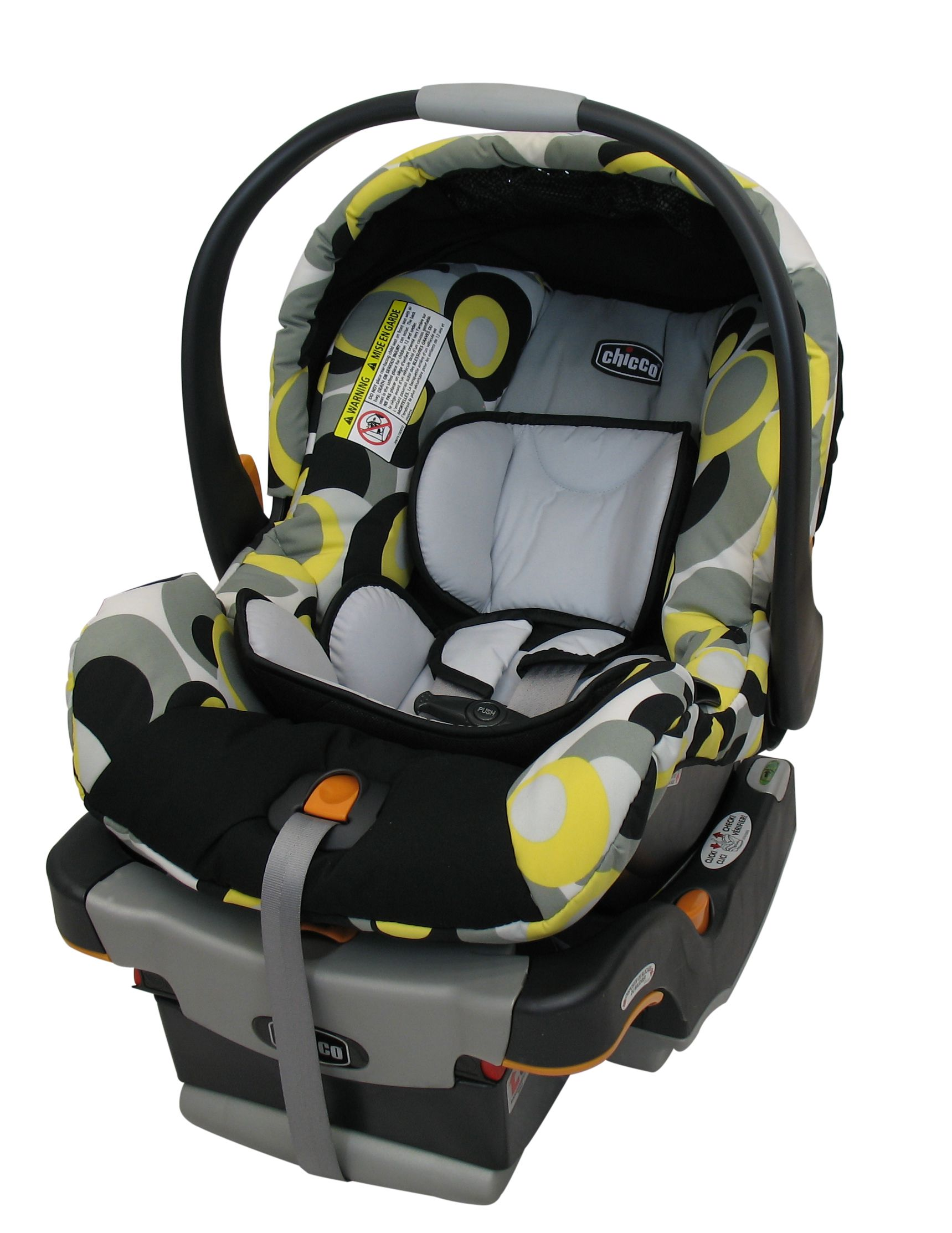 Replacement Chicco KeyFit 30 Infant Car Seat Cover Canopy And Shoulder Pads