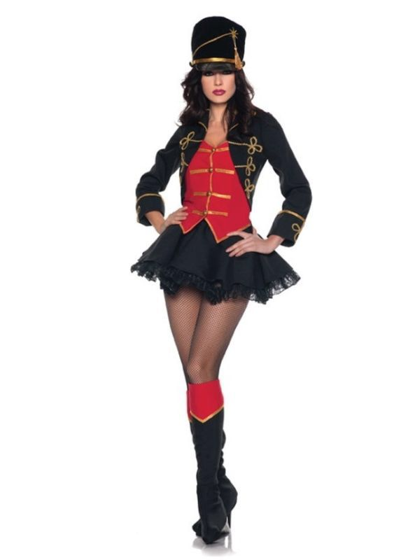 Sexy Majorette Toy Soldier Marching Band Uniform Halloween Ideas