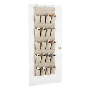 Genial ... Hanging Shoe Organizers U0026 Door Shoe Racks. 20  Pocket Eco Fabric  Overdoor Shoe Bag Container Store $24.99