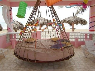 8 Suspension Bed in Gazebo set up for a Birthday! | Bedroom Styles ...