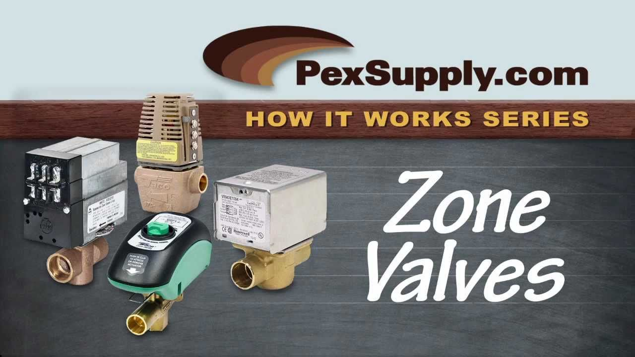 How zone valves work hydronic heating heating systems