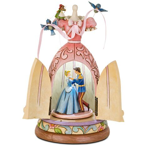 A Dream Is A Wish Your Heart Makes Cinderella Dress Figurine By