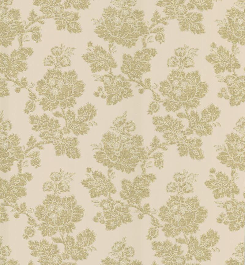 Brewster Wallpaper 983-49018 Ysabelle Beige Jacobean Trail