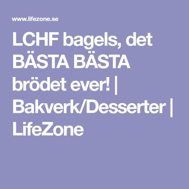 LCHF bagels, det BÄSTA BÄSTA brödet ever! | Bakverk/Desserter | LifeZone