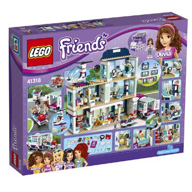 Lego Friends Heartlake Ziekenhuis 41318 1 2 Lego Lego Friends