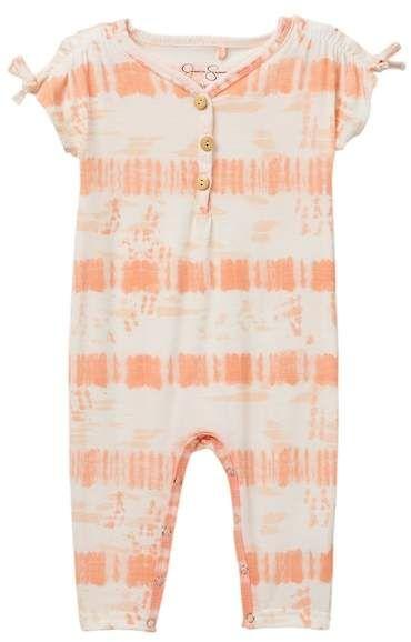ed7f48619b75 Jessica Simpson Tie Dye Romper (Baby Girls) #babygirl, #romper, #nordstrom,  #promotion