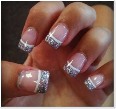 Image Result For French Nails With Design On Ring Finger Nail Art