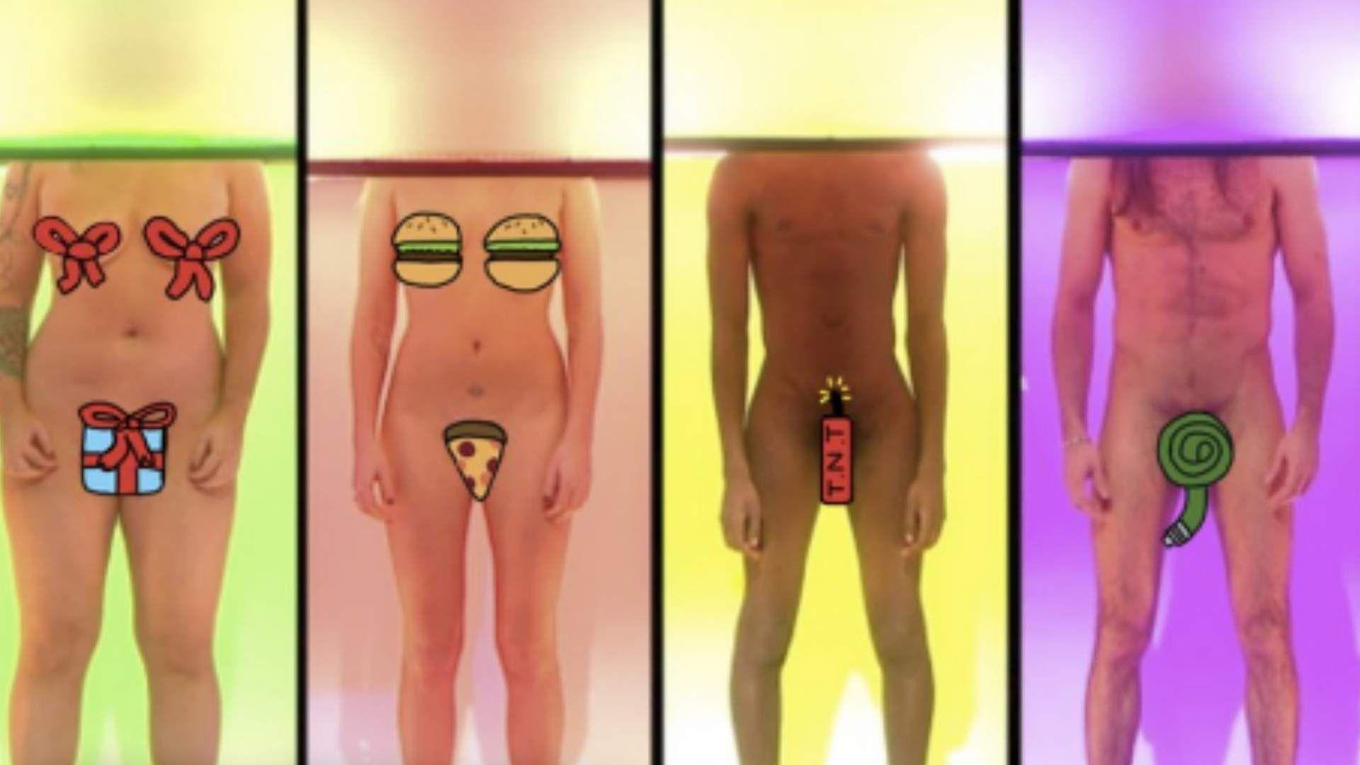 nackt leben weiblich