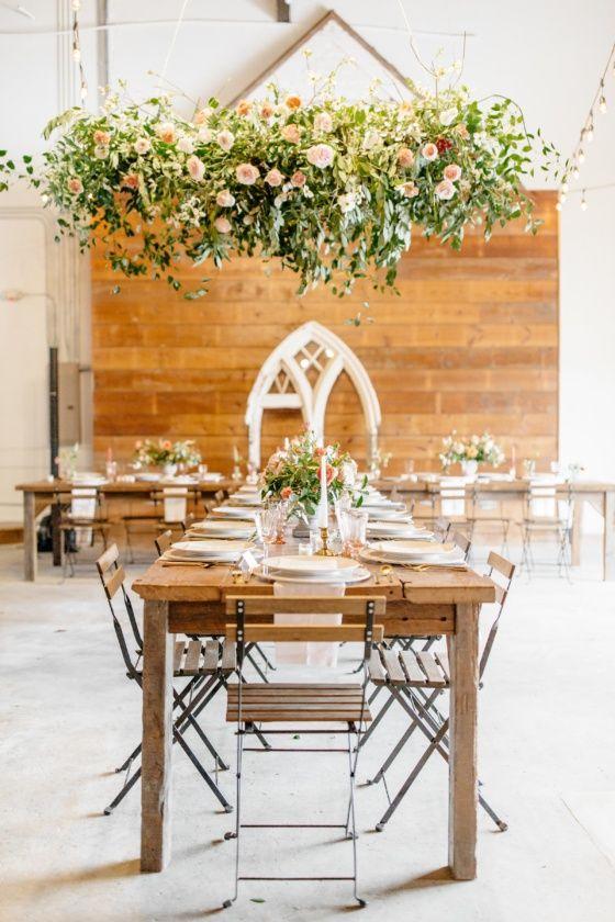 Lush Organic Wedding Inspiration In This Historic Texas Wedding