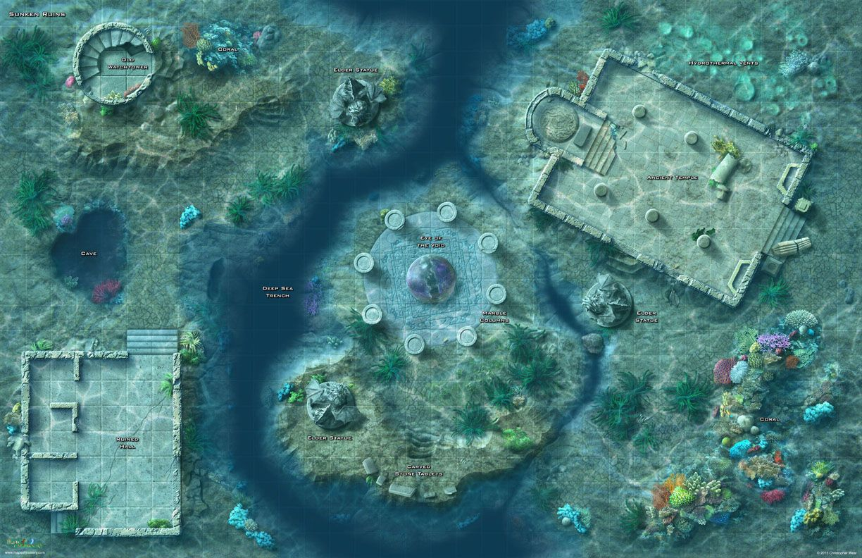 The Sunken Ruins Map Is Designed To Take Adventure Beneath