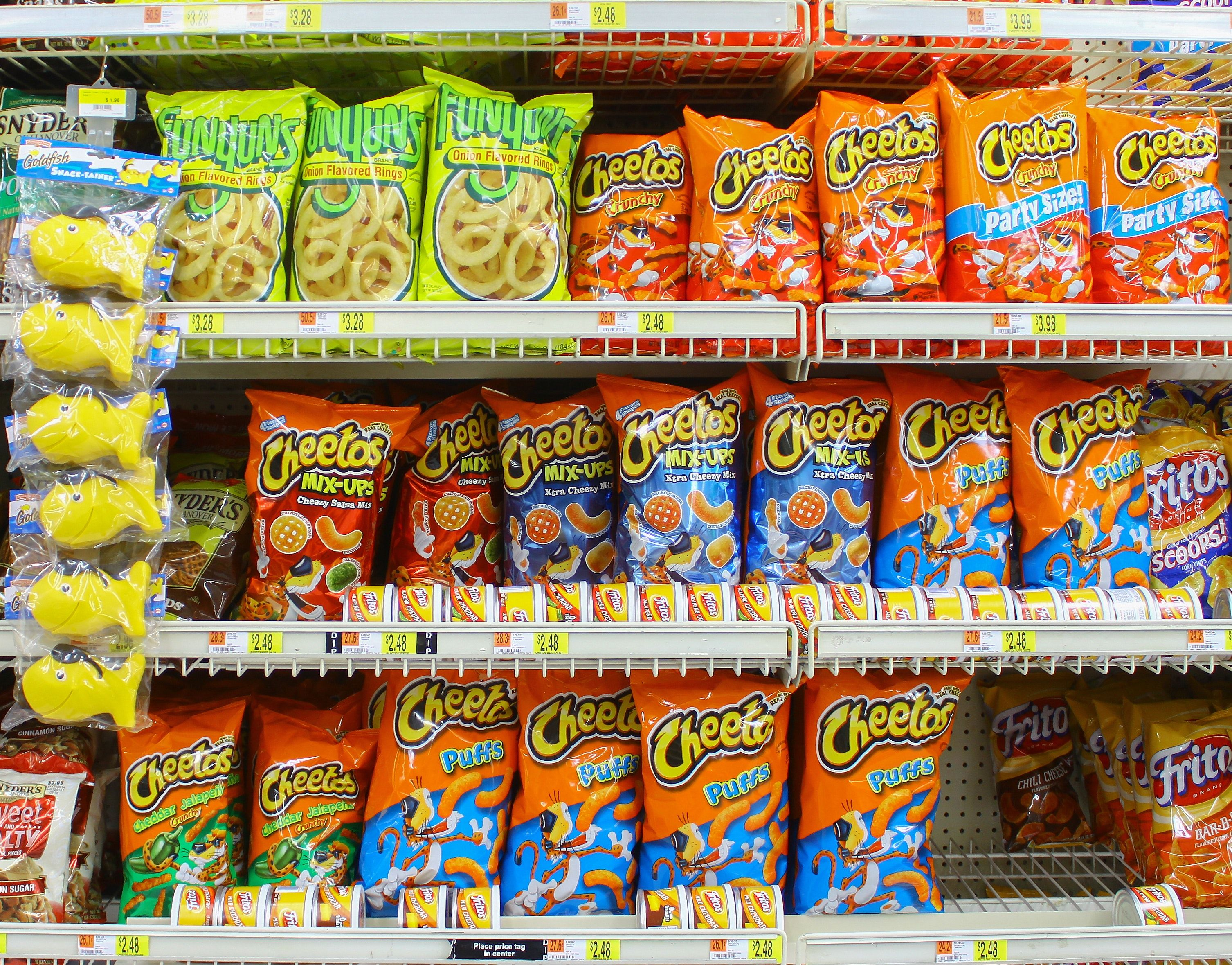 Cheetos has had just about enough of copycat brand peatos