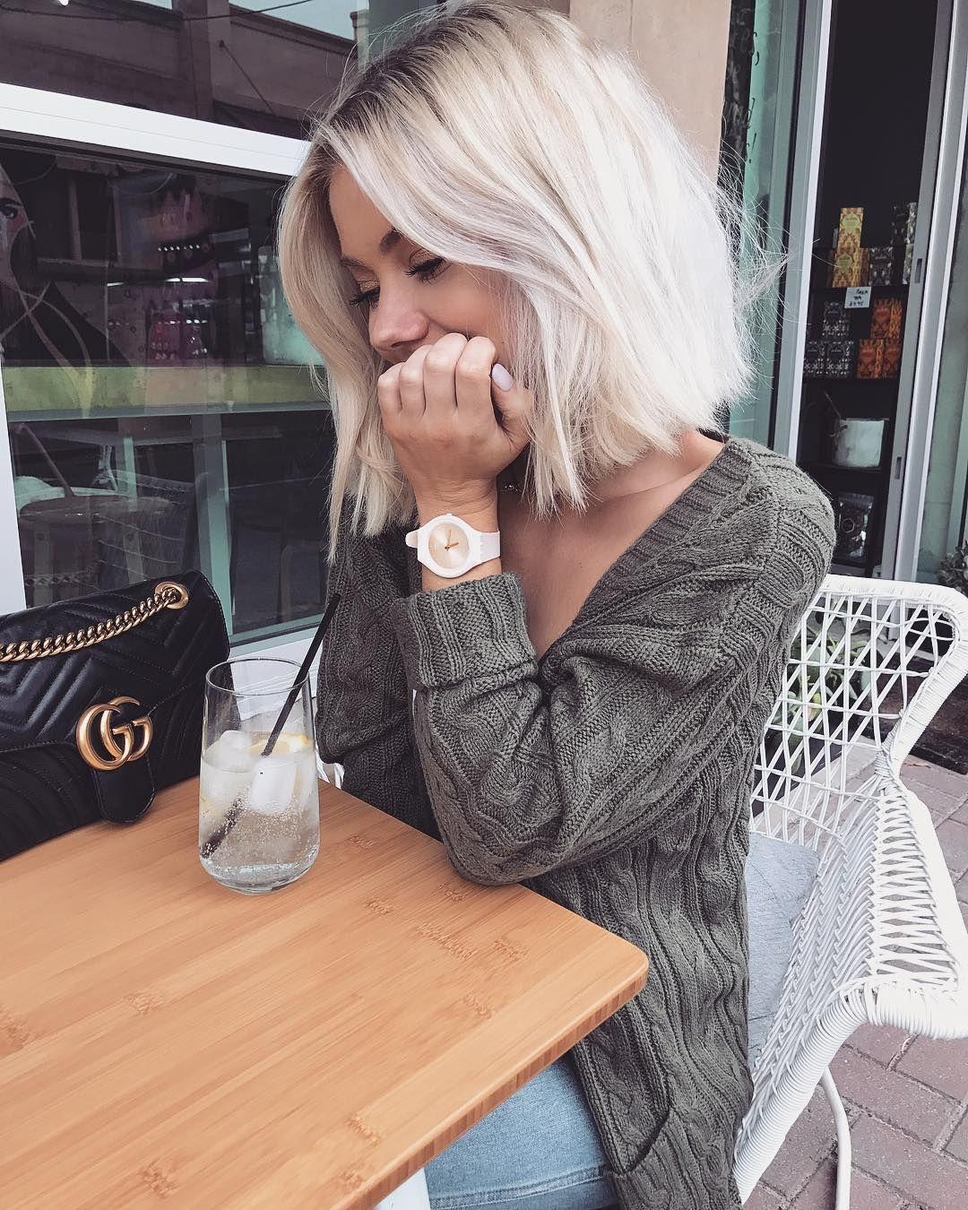 Blond polaire coiffures pour blondes pinterest cabello peinados y corte de pelo - Blond polaire maison ...