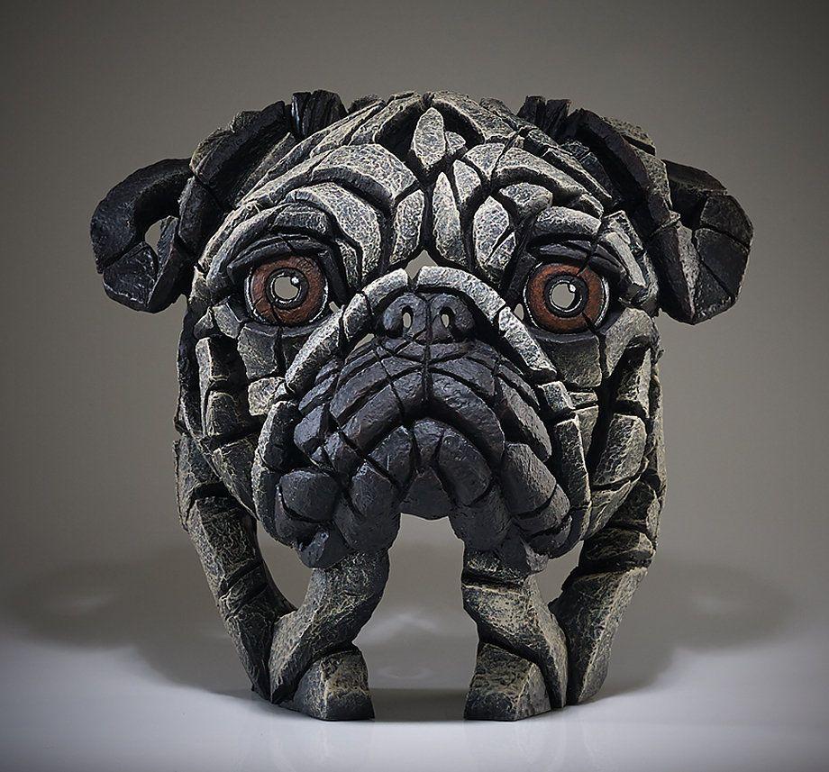 Edge Sculpture Www Deko Unlimited De Buste Mops Pug Keramik