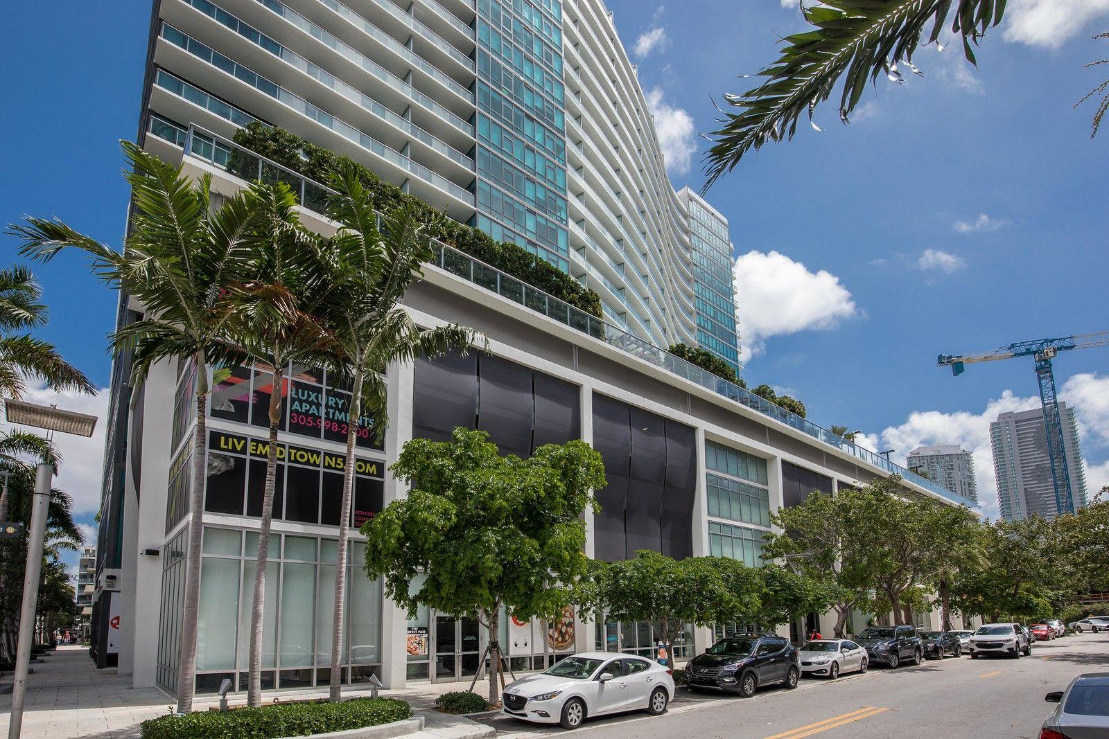 Miami Midtown 5 Tower Midtown Luxury Apartments Building Facade