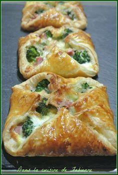 Paniers brocolis jambon comté - Dans la cuisine de Fabienne #recettesdecuisine