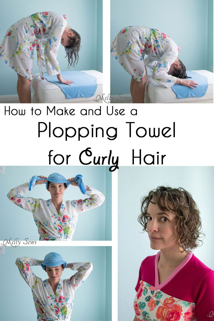 Plopping Towel For Curly Hair Melly Sews Plopping Curly Hair Curly Hair Diy Hair Plopping