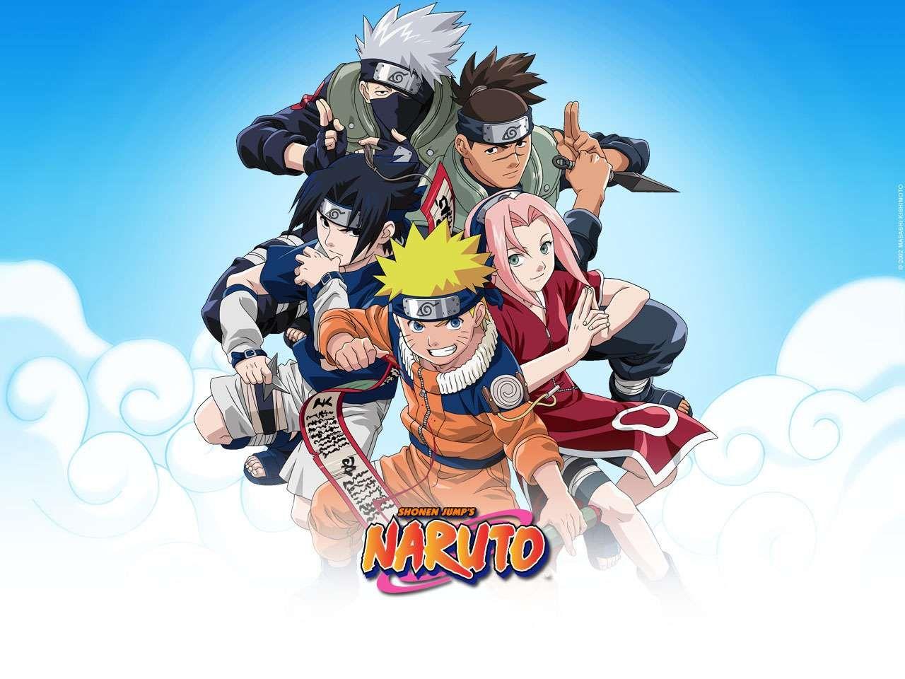 Kakashi sakura sasuke naruto wallpaper forwallpaper com html code - Naruto Logo Naruto Logo 1280x960 Px Wallpapers 9050 Free Download Naruto