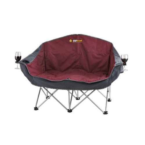 Oztrail Moon Double Chair Camping Essentials Outdoor