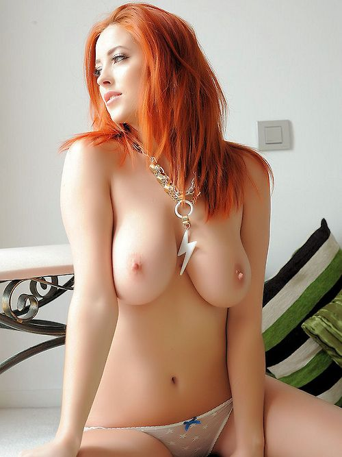 Redhead at freeones