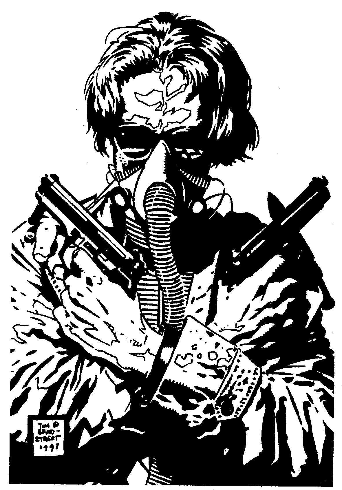Tim BratStrett (With images) Cyberpunk, Apocalypse, Anime
