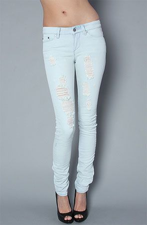 bigchipz.com light denim skinny jeans (07) #skinnyjeans | Jeans ...