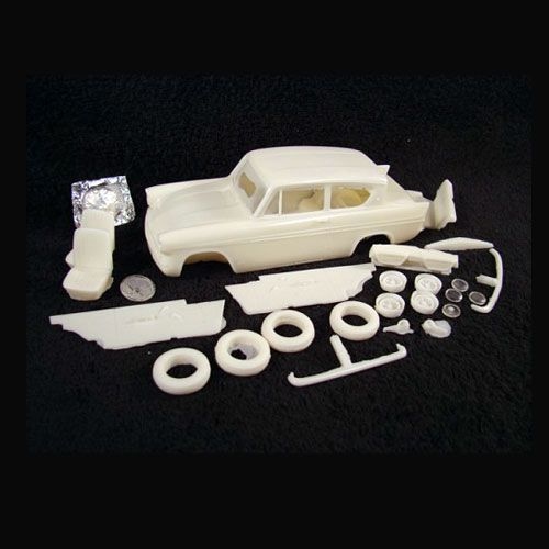 1962 Ford Anglia Air Trax Resin Ford Anglia Trax Miniature