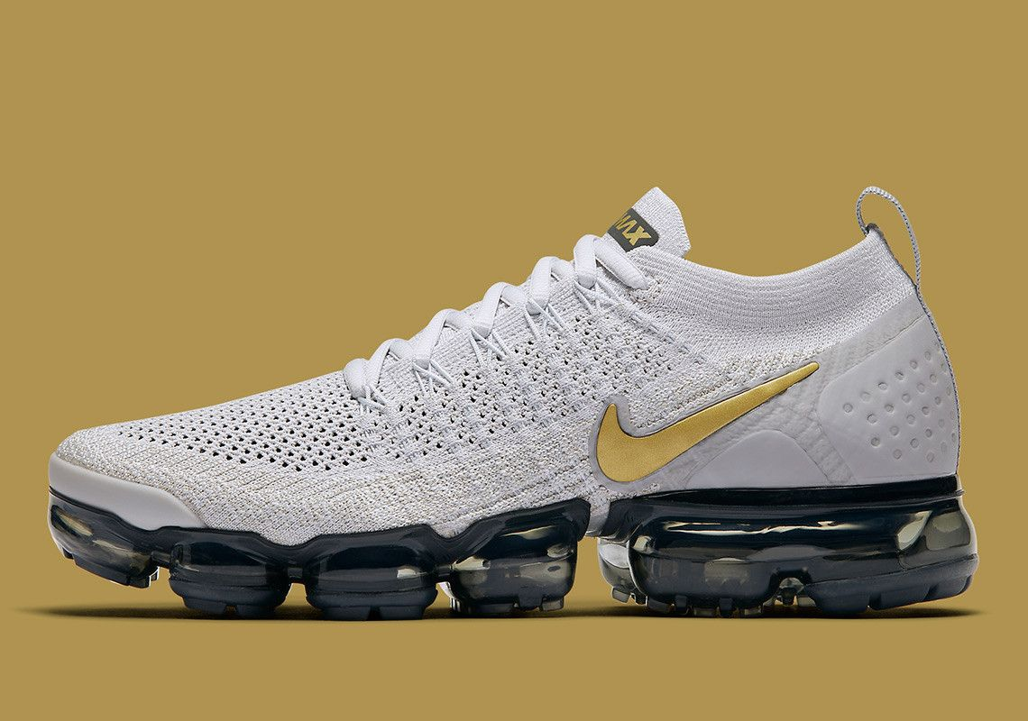 5c12d1534a38e Nike Vapormax Flyknit 2 Metallic Gold Is Coming In November ...