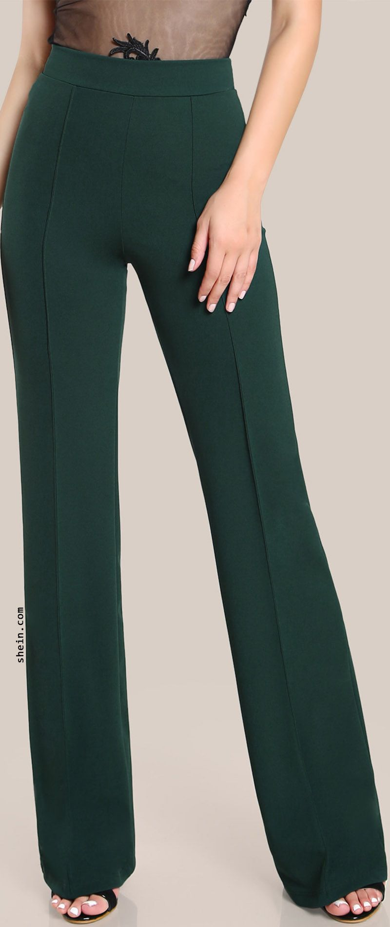 8025453254 High Rise Piped Dress Pants | Spotlights | Fashion, Fashion outfits ...