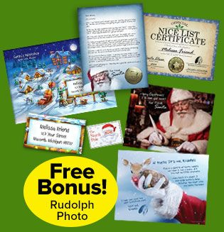 Order personalized letters from santa claus north pole address order personalized letters from santa for your child includes genuine santa letter nice certificate reindeer food letter from rudolph and more spiritdancerdesigns Image collections