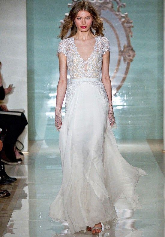 Reem Acra Gorgeous Girl Second Hand Wedding Dress | Pinterest ...