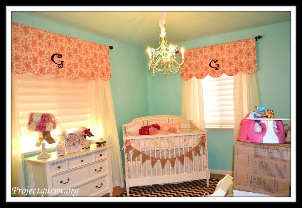 Nursery Window Treatments Too Cute And I Think Might Be Able To Sew These