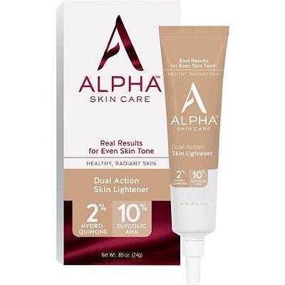 Alpha Skin Care Dual Action Skin Lightener Ulta Beauty Skin Lightening Cream Skin Lightener Skin Care