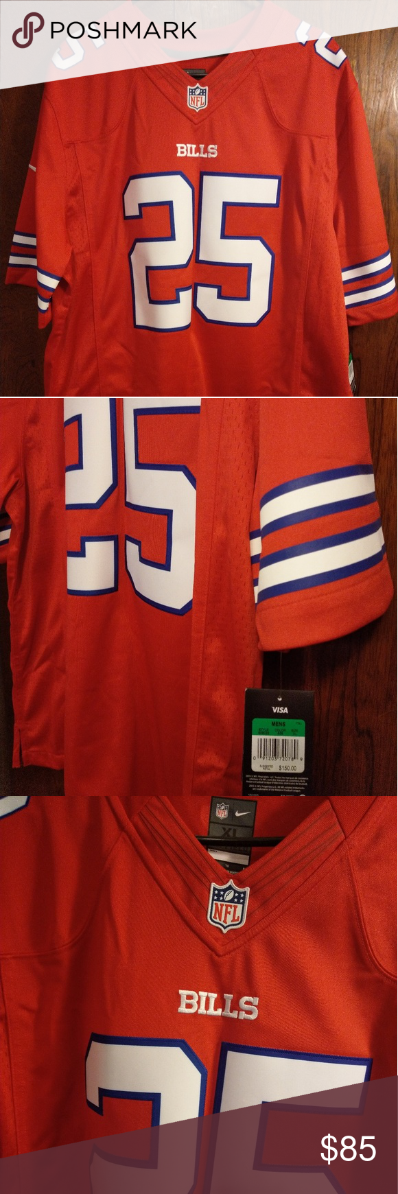 timeless design 73866 af7df Sz XL Nike LeSean McCoy Limited Jersey Color Rush Sz XL Nike ...