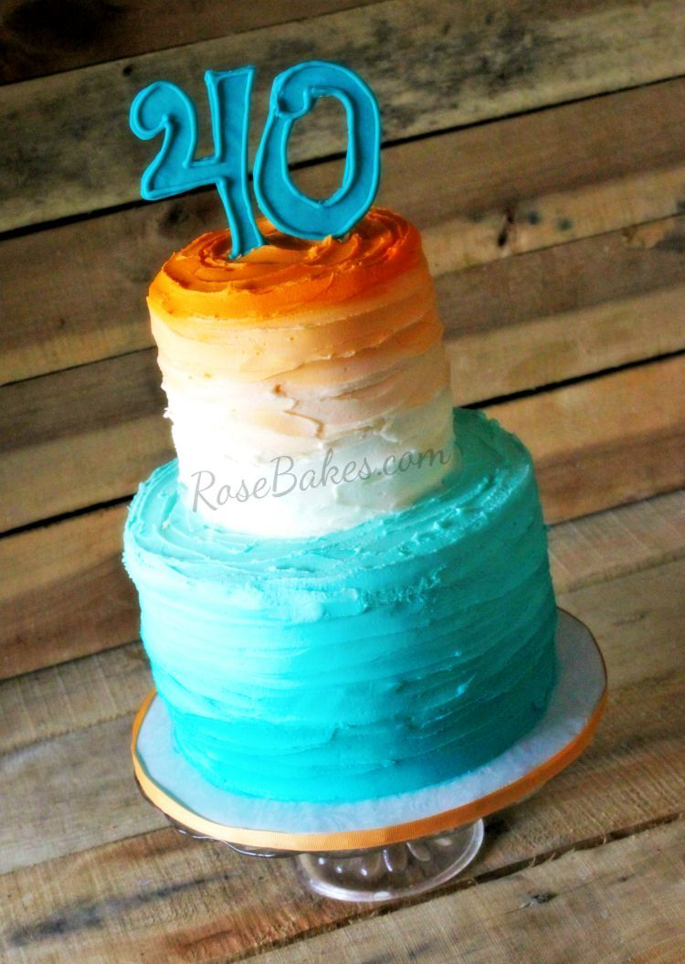 So this Orange and Teal #Ombre 40th #Birthday #Cake post might be the weirdest post ever on Rose Bakes. Well, it's not weird now, but it was weird. See, I posted this cake in October 2015. Or I thought I did. But recently a reader brought it to my attention that the post only had a single photo and…Continue Reading ▶️