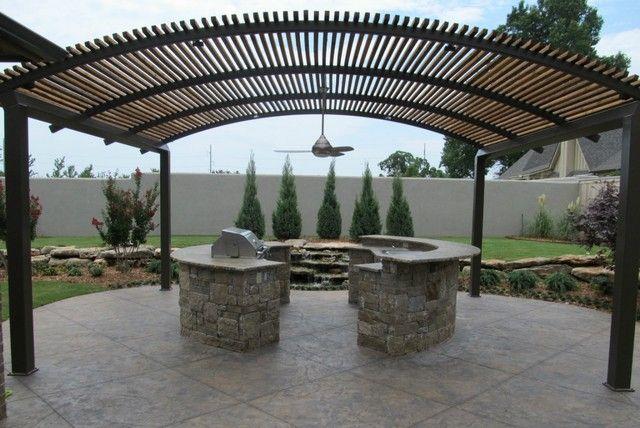 Steel shade pergolas pictures custom pergola installs for Metal sun shade structures