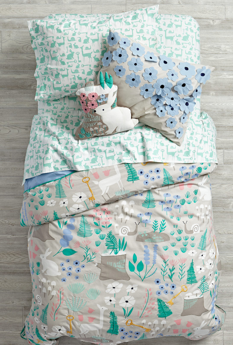 The Land Of Nod Folkloric Bedding Launching July 2015
