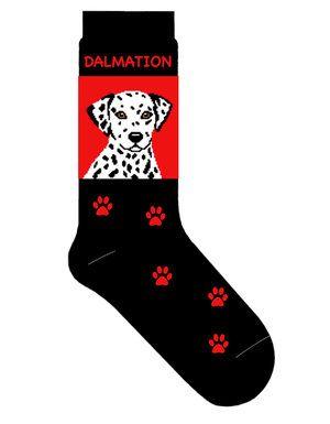 Dalmatian Crew Socks Unisex