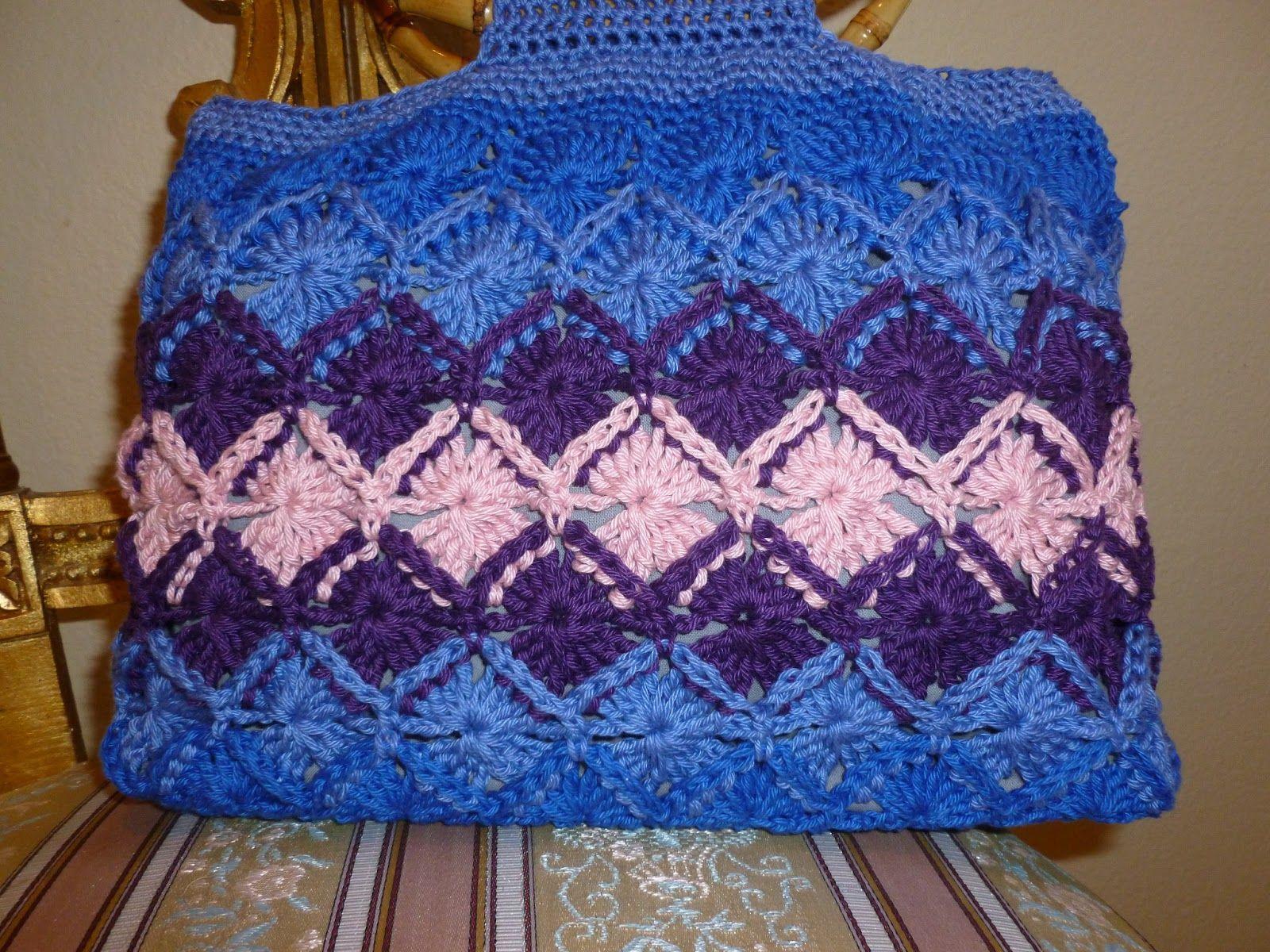 baviaran crochet | Lilly My Cat: Bavarian Crochet Handbag | Bavarian ...