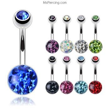 Simple Belly Ring   Belly button, Belly button rings ...