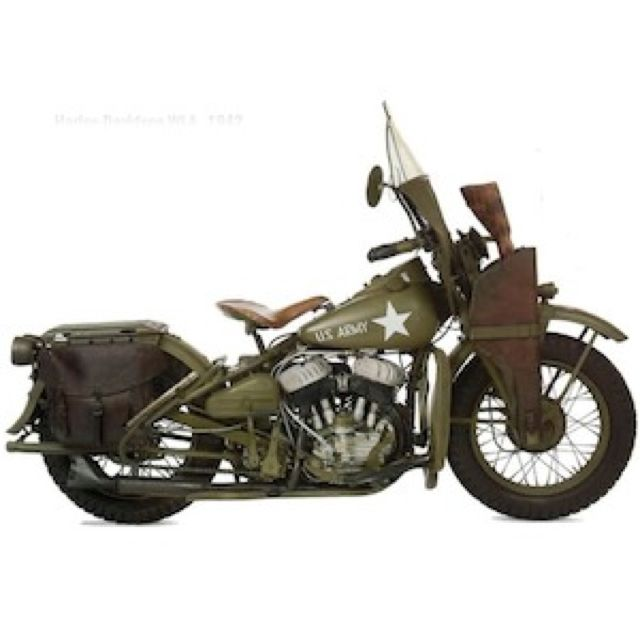 "WLA (1942) During WW2, Harley-Davidson almost exclusively produced motorcycles designed for military use. Based on the civilian model of the WL, it earned the nickname ""the Liberator"" since it was ridden by soldiers liberating occupied Europe."