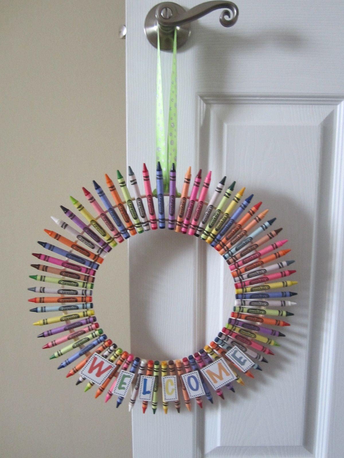 Crayon Wreath!