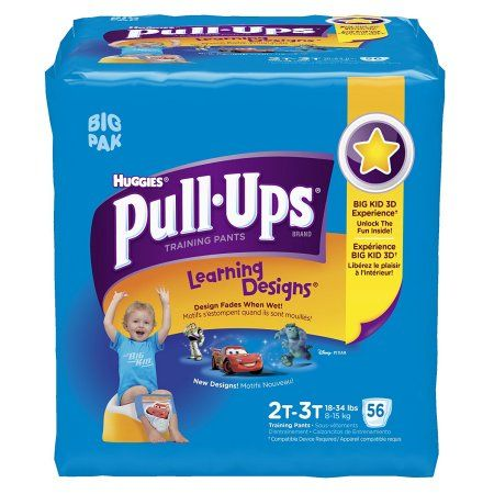 Pull-Ups Learning Designs Training Pants 2T-3T Girl Jumbo Pack 26-Count