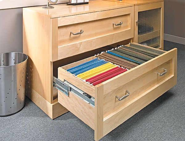 Superbe Lateral File Cabinet Woodworking Plan