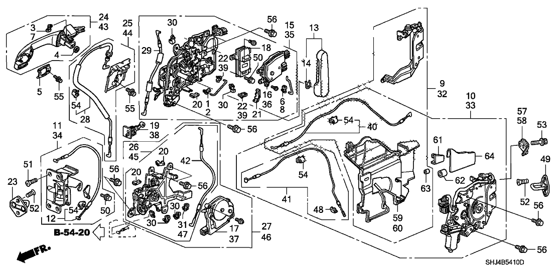Honda 72662 Shj A22ze Honda Honda Odyssey Honda Accessories