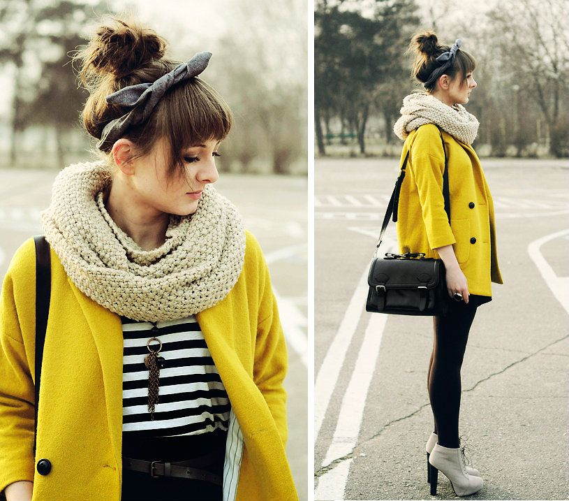 Yellow pea coat | Winter clothes | Pinterest | Coats, Yellow and ...